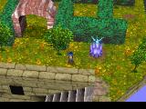 Legend of Legaia PlayStation Sky Garden - a nice location with a supposedly great view, a save point, and a hedge maze