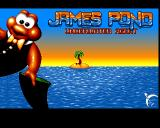James Pond: Underwater Agent Amiga Title-1