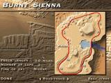 The Need for Speed: Special Edition DOS SE special track: Burnt Sienna. Track layout.