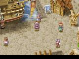 Rhapsody: A Musical Adventure PlayStation Nice harbor area with people, statues, and all that