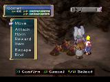 Rhapsody: A Musical Adventure PlayStation Birds ganging up on me in a volcanic cave. Cave dungeons are horribly similar - this one is just slightly more reddish than the rest