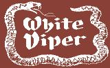 White Viper Commodore 64 Title Screen.