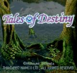 Tales of Destiny PlayStation Title screen B