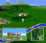 Tales of Destiny PlayStation On the world map. See your current party and a mini-map as well