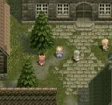 Tales of Destiny PlayStation One of the first towns you'll visit. Standard pseudo-medieval look prevails