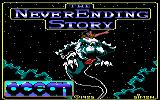 The Neverending Story Amstrad CPC Loading Screen.