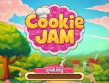 Cookie Jam Browser Title and loading screen