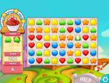 Cookie Jam Browser Level 1. I have already finished the red hearts.
