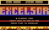Excelsor Atari 8-bit Title screen