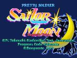 Pretty Soldier: Sailor Moon Arcade Title screen