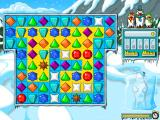 Ice Puzzle Deluxe Windows Same groups of crystals disappeared and replaced by other crystals and the yellow tiles disappeared