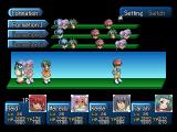 Tales of Destiny II PlayStation Setting up formation menu