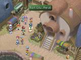 Tales of Destiny II PlayStation Finally, a bustling town with bright colors!..