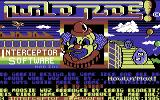 Wild Ride Commodore 64 Title Screen.