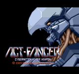 Act-Fancer: Cybernetick Hyper Weapon Arcade Title screen