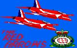 Red Arrows Amstrad CPC Loading Screen.