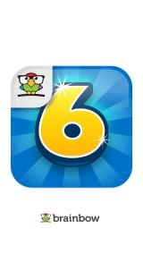 6 Numbers iPhone Splash screen