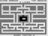 Zac-Man ZX81 Your chance to eat the ghosts.