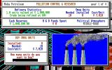 Oil Barons Amiga First turn: smog units needed for pollution control.