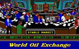 Oil Barons Amiga Meanwhile, at the stock exchange...