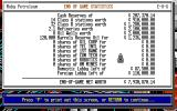 Oil Barons Amiga End-of-game statistics