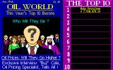 Oil Barons Amiga Earned me a place in the annals of greed!