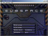 SubSpace Windows Subspace main menu