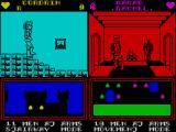 Throne of Fire ZX Spectrum Game starts