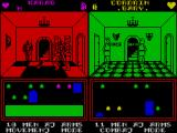 Throne of Fire ZX Spectrum second player fights