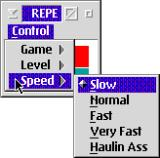 "Computerized Repeat OS/2 Five speeds, including the idiosyncratically named ""Haulin Ass"", are available."