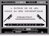 3D Formule 1 ZX81 Another title screen