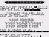 3D Formule 1 ZX81 Controls + selection of number of players