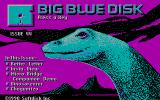 Big Blue Disk #44 DOS Title screen