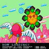 Fantasy Zone Sharp X68000 Loading screen
