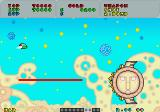 Fantasy Zone Sharp X68000 Third boss KobaBeach firing a laser beam