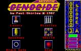 Mission Genocide Atari ST Title screen