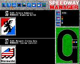 Speedway Manager Amiga Current results