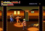 Streets of Rage 2 Arcade Fighting in a bar.