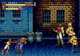 Streets of Rage 2 Arcade Fighting in the rain.