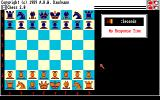 Chess 2.0 Amiga Start by setting the timer