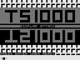 Bigflap Attack ZX81 Title Screen.