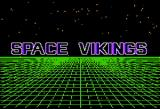 Space Vikings Apple II Title screen
