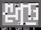 Dans Revenge ZX81 Getting killed by a monster