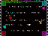 Micro Mouse Goes De-bugging ZX Spectrum Level 2 with a more complex program