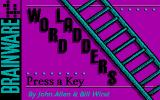 Word Ladders DOS Title screen