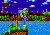Sonic the Hedgehog Arcade Bounce off that to jump higher.