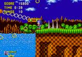 Sonic the Hedgehog Arcade Take the platform.