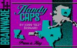 Handy Caps DOS Pre-title screen