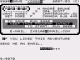 Yoogor ZX81 Quit message from the author
