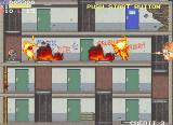 Elevator Action 2 Arcade It got hot in here - enemies burning